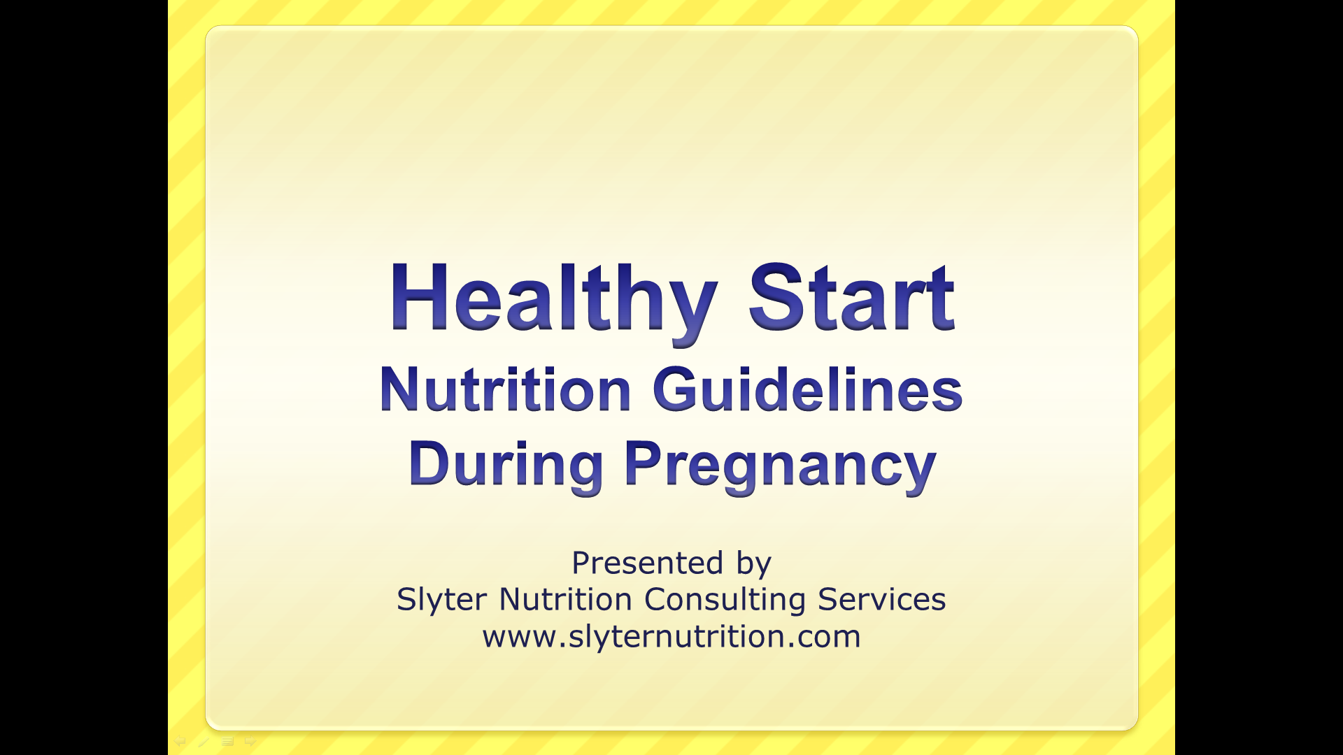 services maternity pregnant starting